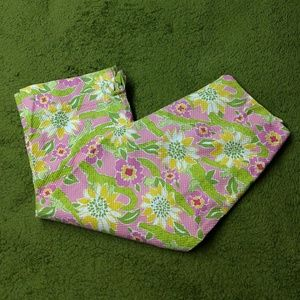 Lilly Pulitzer Croc Monsieur Quilted Capri